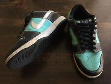 "Used Nike Dunk Low Pro SB x Diamond Supply Co. ""Tiffany""- Size 9.5"