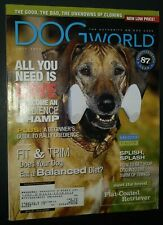 New ListingDogs World Illustrated Magazine Flat-Coated Retriever Cover + Photos Jul 2002