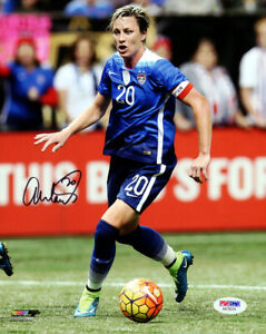 ABBY WAMBACH AUTHENTIC AUTOGRAPHED SIGNED 8X10 PHOTO TEAM USA PSA/DNA 101376