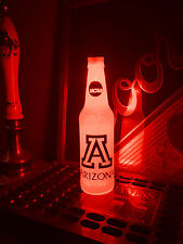 NCAA Arizona Wildcats Football 12oz Beer Bottle Light LED March Madness