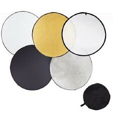 Pro Studio 43-inch / 110cm 5-in-1 Collapsible Multi-Disc Light Reflector Bag