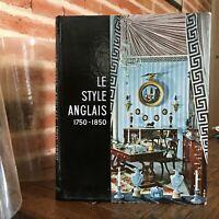 Conoscenza Delle Arti Il Stile Inglese 1750-1850 Hachette 1959