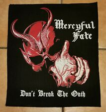 Mercyful Fate Don't Break the Oath Backpatch, Ghost, Judas Priest, King Diamond