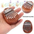 US Mini 8 Keys Kalimba Thumb Piano Finger Percussion Pocket Musical Tool Gifts