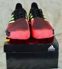 Adidas SoleCourt Boost Men Tennis Shoes Size 10.5.Black/Red AH2131 Dominic Thiem