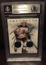 2013-2014 Artifacts Jerseys #96 Tyler Seguin - 076/125 - Auto - BAS COA - Bruins