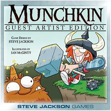 Munchkin Guest Artist Ian McGinty Board Card Game Steve Jackson Games SJG 1515