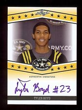TYLER BOYD  - Pitt Panthers Football - 2013 Leaf Army TOUR Cert. AUTOGRAPH RC