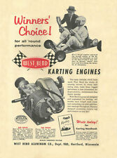 Vintage & Very Rare 1960 West Bend 580 & 700 Winners Choice Go-Kart Engine Ad