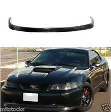 99-04 FORD MUSTANG OE STYLE PU BLACK URETHANE FRONT CHIN BUMPER LIP SPOILER