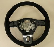 VW Transporter T5  -  steering wheel genuine alcantara - RETRIMMING SERVICE