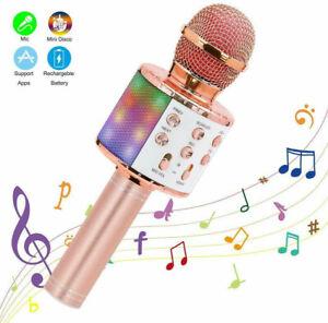 Top Handheld Handy Speaker Household Wireless Karaoke Microphone Home KTV Player