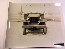 International Harvester 6x6 WWII 1940s Photo Truck Marine Original M-5
