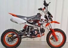 125cc Pit bike, Dirt bike, Enduro, Off Road, 4 speed manual, Sports exhaust,