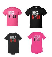 Big Brothers Rock / Little Sisters Roll Baby Announcement Bodysuit T-Shirt