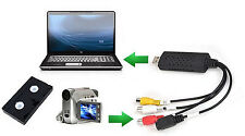 VHS to USB Converter PC Adapter TV Audio Video DVD USB 2.0 WinXP/2000