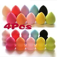 4pcs Pro Beauty  Makeup  Foundation Puff Multi Shape Sponges New