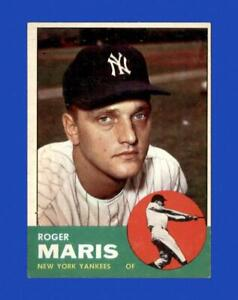 1963 Topps Set Break #120 Roger Maris EX-EXMINT *GMCARDS*