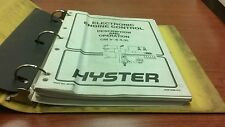 Hyster Forklift Manuals 897435, 897420, 897412, 897855
