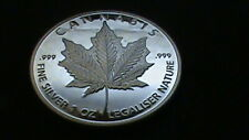 Cannabis~Poker Card Marker~Heads Or Tails`Exonomia~Fantasy~38 mm~X Mint