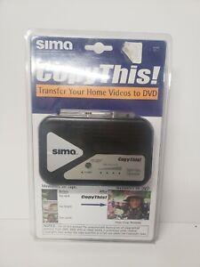 Sima CopyThis CT-1 Digital Video Enhancer And Diplicator VHS Transfer to Dvd