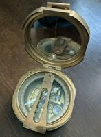 Vintage/Antique Brass Stanley London Compass No. 1865 - Used