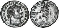 GALERIUS 311 AD Æ Roman Bronze Follis Coin GENIO AVGVSTI Cyzicus