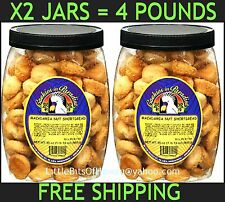 COOKIES IN PARADISE MACADAMIA NUT SHORTBREAD X2 TWO 30 oz Jars = 4 POUNDS HAWAII