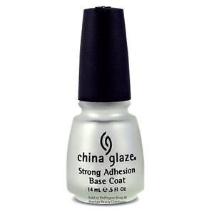 China Glaze Strong Adhesion Basecoat For Nails 0.5 Fl oz