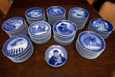 Royal Copenhagen Christmas Plate Collection 1908-2003 COMPLETE 40/41/42/43/44/45