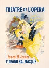 Theatre de l'Opera by Jules Cheret 90cm x 64cm Art Paper Print