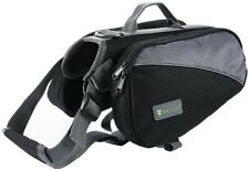 New listing Wellver Dog Backpack Saddle Bag For Hiking Walking And Camping