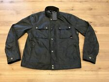"Belstaff Racemaster Wax Cotton Jacket - 46"" Men's - Faded Olive - New - RRP £425"
