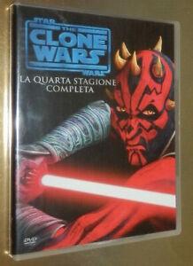 STAR WARS THE CLONE WARS LA QUARTA STAGIONE COMPLETA _ BOX 5 DVD