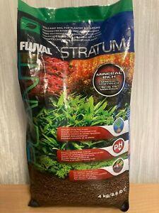 Fluval Stratum Substrate Plant & Shrimp Volcanic Soil for Planted Fish Aquarium