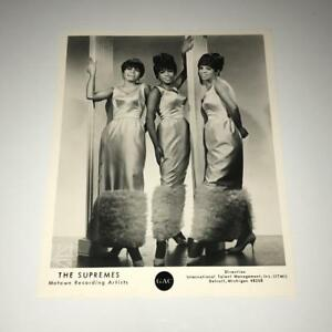 Vintage Diana Ross and The Supremes 8x10 Publicity Photo NOS