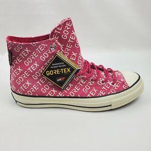 Converse Chuck Taylor All Star 70 Hi Gore-Tex Sneaker 10.5 Pink 162352C Mens