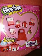 NEW ~SHOPKINS~ SWEET HEART COLLECTION - 6 Exclusive Shopkins ~Ready to Ship~