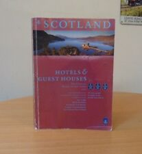 SCOTLAND-HOTELS & GUEST HOUSES-THE OFFICIAL WHERE TO STAY GUIDE 2001-SOFTCOVER