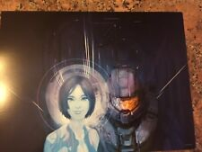 Halo ~ Hologram Girl ~ Game Double Sided Poster Art