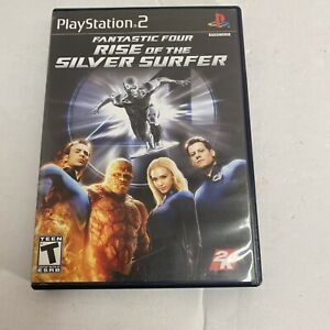 Fantastic Four 4: Rise of the Silver Surfer (Sony PlayStation 2) Video Game F/S