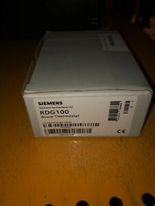 Siemens RDG100 room thermostat