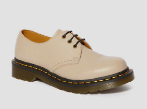 Dr Martens Natural Wanama Leather Oxford Shoes 10L EU42 New In Box