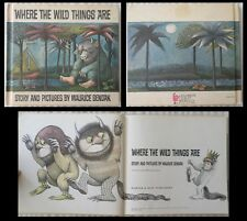 BOOK Where The Wild Things Are Maurice Sendak Childrens Club Edition MAKE*OFFER*