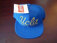 UCLA BRUINS CALIFORNIA HARDTOFIND SPLASH  SCRIPT VINTAGE 90'S HAT CAP  SNAPBACK
