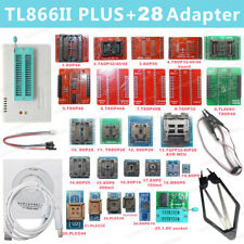 TL866II PLUS Programmer EEPROM Support NAND Flash AVR MCU GAL PIC SPI 28 adapter