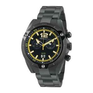 Mens Wristwatch MOMO DESIGN DIVE MASTER MD282BK-30 Chrono Stainless Steel Black
