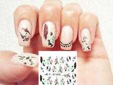 Water Transfer Nail Art Sticker Nagel Tattoo Aufkleber Design Dekoration 17639