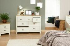 LANCASTER MERCHANTS CHEST 7 DRAWERS DRESSING TABLE CABINET STORAGE