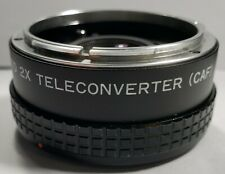 Zykkor Auto 2X Teleconverter (CAF) Made in Japan For Canon FD mount